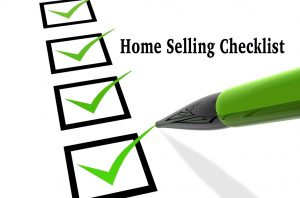 Checklist for selling your house
